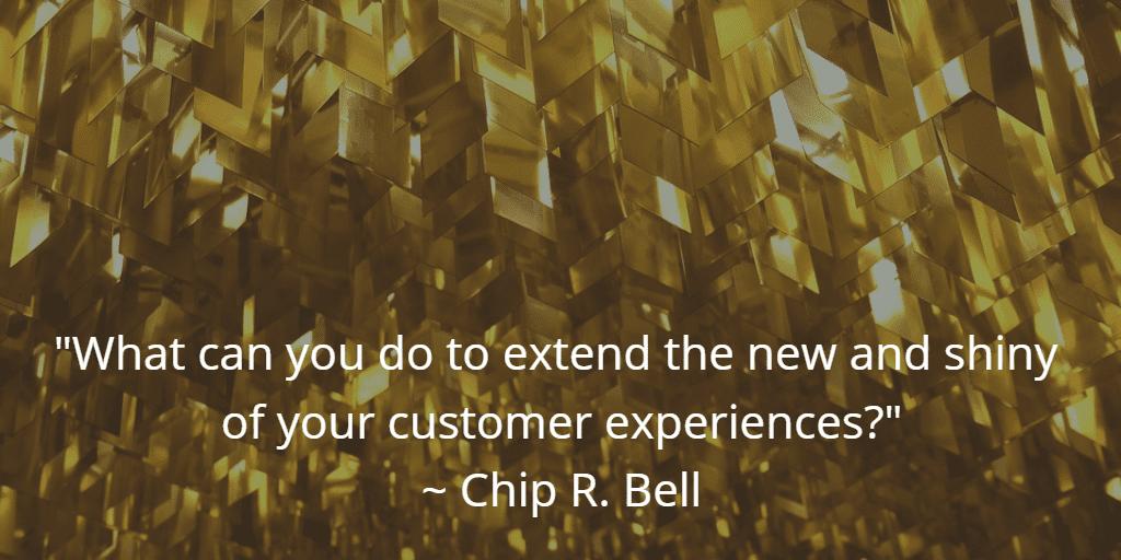 Keeping Customer Experiences New and Shiny