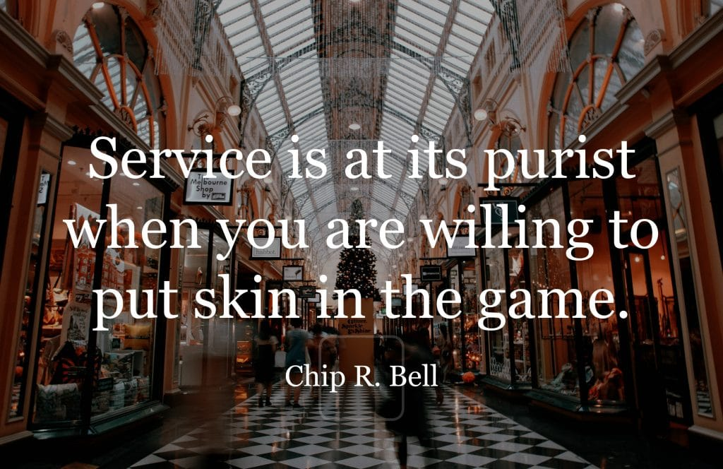 Will You Put Skin in the Service Game?